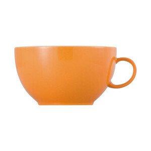 Cappuccinoobertasse 380 ml rund Sunny Day Orange orange Thomas