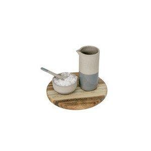 Mini Öl und Salz Poesie et Table Vino Apero Räder