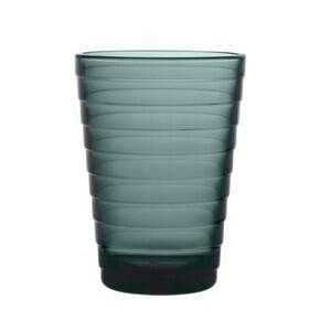 Glas Aino Aalto 0,33 l dunkelgrau iittala