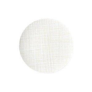 Teller flach 30 cm Mesh Line Cream Rosenthal