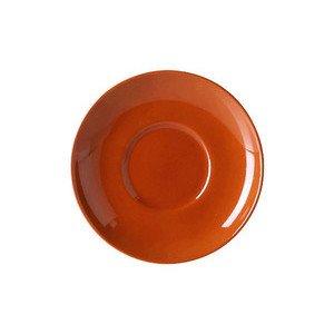 Untertasse 0,25 ltr. Solid Color karamell Dibbern