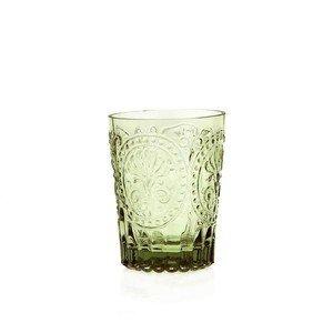 Wasserglas S Fleur de Lys grün Van Verre