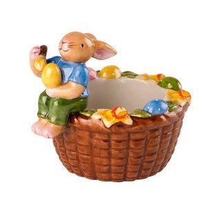 Teelichthalter Korb Hasenjunge Bunny Family Villeroy & Boch