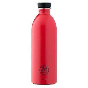 Trinkflasche 1 l Urban Bottle rot 24bottles