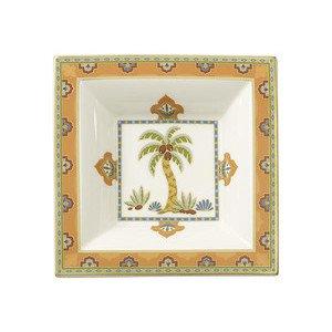 Schale 14,0 cm x 14,0 cm quadratisch Samarkand Mandarin Villeroy & Boch