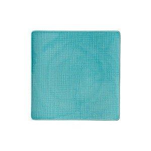 """Teller 31 cm x 31 cm quadratisch """"Mesh Aqua"""" Rosenthal"""