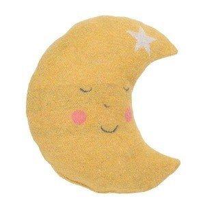Kissen m. Füllung Mond gelb/grau David Fussenegger