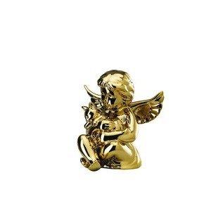 Engel mittel mit Katze Gold titanisiert Rosenthal