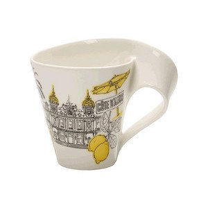 Becher m. Henkel 0,3 l Cote Az Cities of the World Mug Villeroy & Boch
