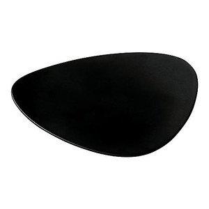 Untertasse schwarz Colombina Collect. 18,2 cm Alessi