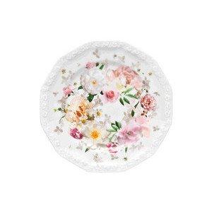 Brotteller 17 cm Blumen Maria Pink Rose Rosenthal