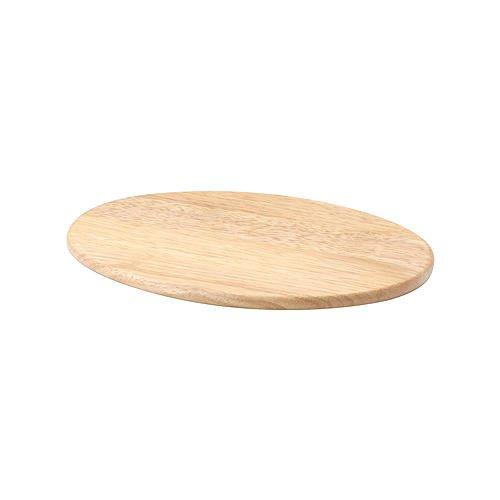vesperbrett oval 30 cm ge lt gummibaum natur holz schneidebretter schneiden vorbereiten. Black Bedroom Furniture Sets. Home Design Ideas