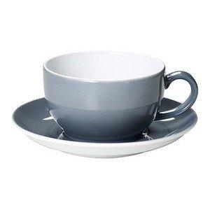 Cappuccino Obere 0,3 ltr. Solid Color grau Dibbern