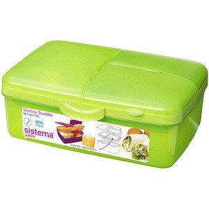 Lunchbox Quaddie grün 1,5 l Sistema