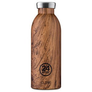 Thermo Trinkflasche 0,5 l Sequoia Wood 24bottles