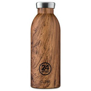 Thermo Trinkflasche 0,5 l Clima Bottle Sequoia Wood 24bottles