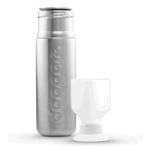 Trinkflasche 0,45 l Solid Steel Dopper
