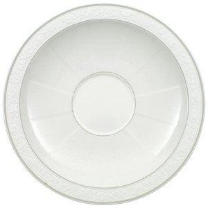 Frühstücksuntertasse 18 cm rund mit Spiegel Gray Pearl Villeroy & Boch