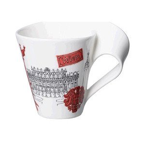 Becher m. Henkel 0,3 l Wien Cities of the World Mug Villeroy & Boch