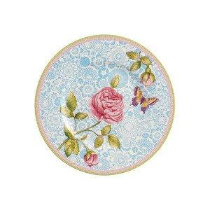 Frühstücksteller 22 cm blau Rose Cottage Villeroy & Boch