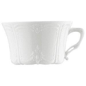 """Tee-Obertasse 220 ml rund """"Baronesse Weiss"""" Hutschenreuther"""