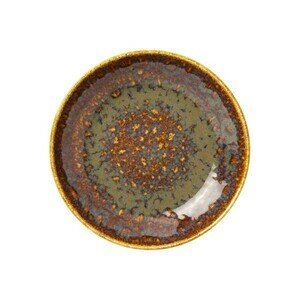 Coupe Bowl 21 cm Vesuvius Amber Steelite