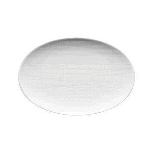 """Platte 18 cm """"Mesh weiss"""" oval Rosenthal"""