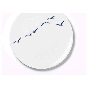 Teller flach 32 cm Blue Birds Dibbern