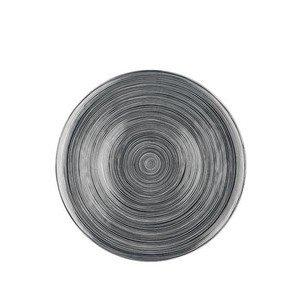 Platzteller 33 cm TAC Gropius Stripes 2.0 titan. Rosenthal