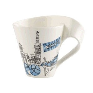 Becher m. Henkel 0,3 l Marseil Cities of the World Mug Villeroy & Boch