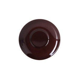 Untertasse 0,25 ltr. Solid Color kaffeebraun Dibbern