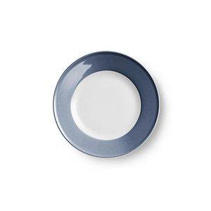Teller flach 19 cm Fahne Solid Color indigo Dibbern