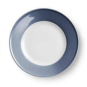 Teller flach 31 cm Fahne Solid Color indigo Dibbern