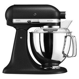 Küchenmaschine 300 Watt 5KSM175 Artisan gusseisen schwarz Kitchen aid