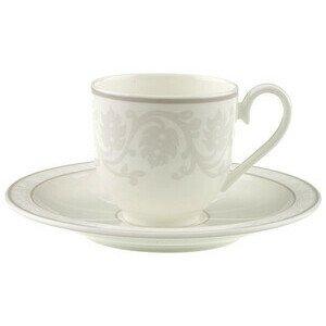Espressotasse mit Untertasse 100 ml rund Gray Pearl Villeroy & Boch