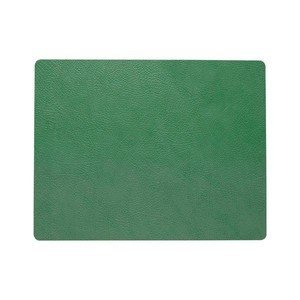 35x45 cm Tischset Square L HIPPO Forest Green LINDDNA