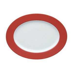 Platte 33 cm oval Sunny Day New Red new red Thomas