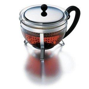 Teebereiter 1,3l Chambord mit Kunststoffsieb Bodum