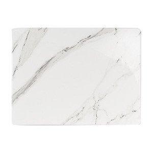 "Platte 32 cm x 24 cm ""Carrara"" Dibbern"