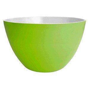 Schüssel 14 cm Duo grün/weiss Zak Design