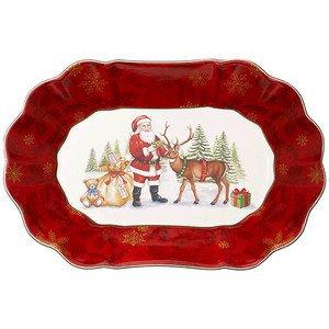 Schale oval 29x19cm gross Santa Toys Fantasy Villeroy & Boch