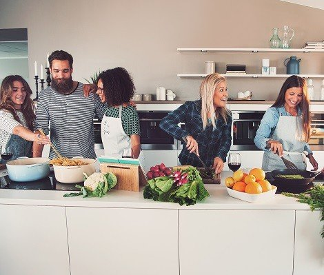 Küchenutensilien für jeden Badarf.