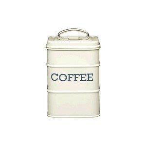 Kaffeedose Stahl creme Kitchen Craft