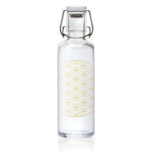 Glasflasche 0,6 ltr Flower of Life Soulbottle