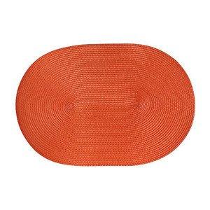 Tischset oval 45x31 cm orange Continenta