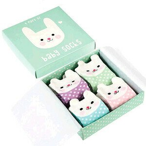 Baby Socken 4er Pack Bunny Rex International