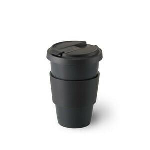 Porzellanbecher Coffee-To-Go 0,35 l Solid Color anthrazit Dibbern