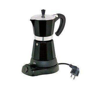 Espressokocher Classico 6 Tassen schwarz elektrisch Cilio