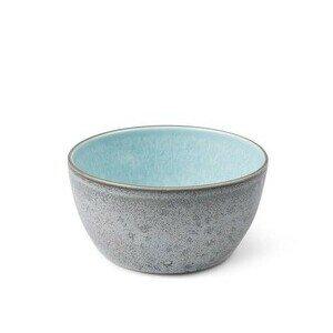 Bowl 14 cm grau, hellblau Bitz