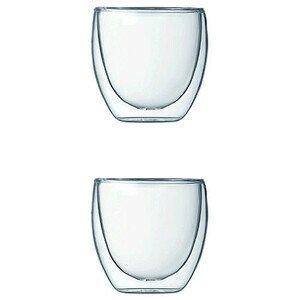 Espresso Glas 2er Set Pavina Bodum